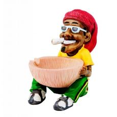 Rasta Ashtray (Coconut)
