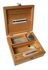 Wooden Weed Box Deluxe