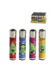 Clipper Lighter 'Weed Man'