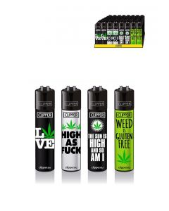 Clipper Lighters 'Weed Statements'