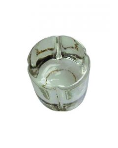 Glass Chillum Filter Stone