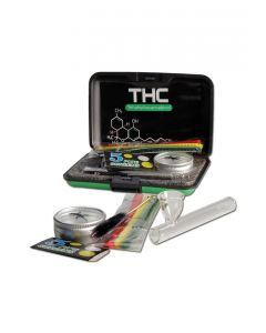 Glass Pure Pipe Set in a Case 'THC'