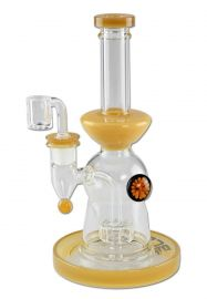 'Blaze' Oil Bong Drum Percolator with Banger
