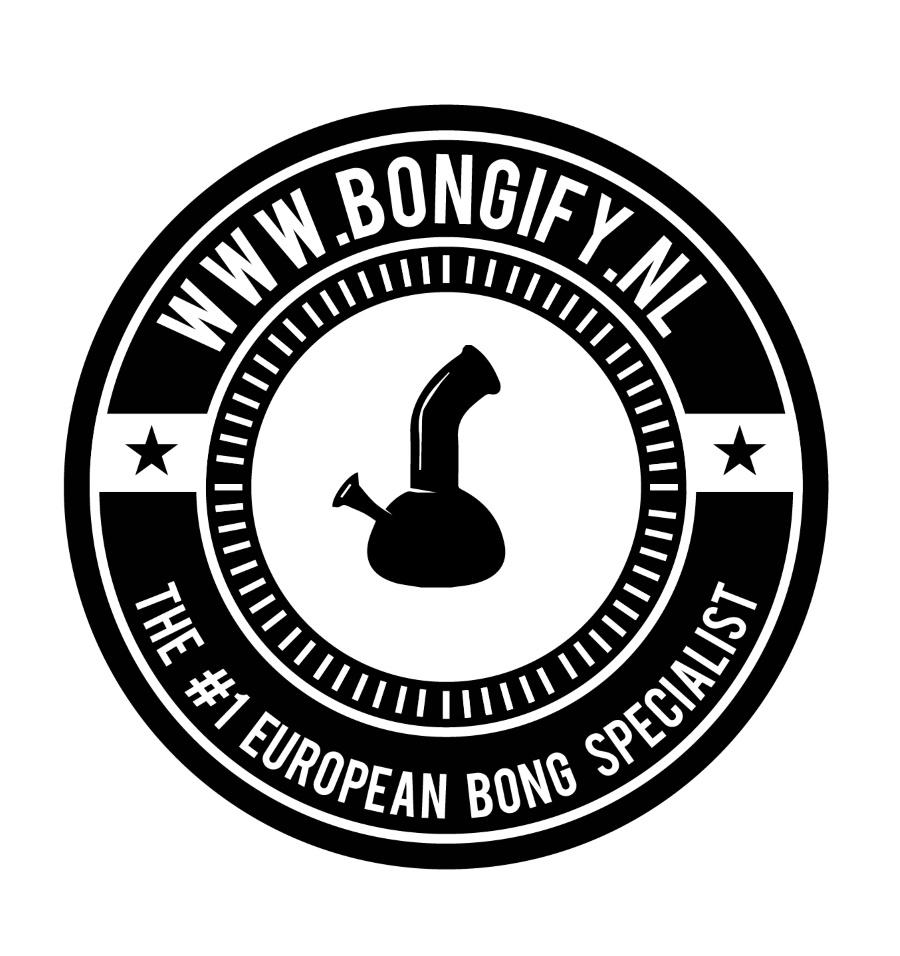'Bud Boy' Acrylic Bong with Glass Spiral Percolator