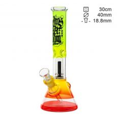 Amsterdam Ice Bong 'Rasta' with Dome Percolator