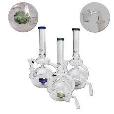 Black Leaf Recycler Bong Perco for Herbs & Oil