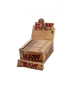"Unbleached ""RAW"" Rolling Papers Classic Slim Size"