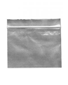 100 Clear Zip Bags 60x80mm, 50µ