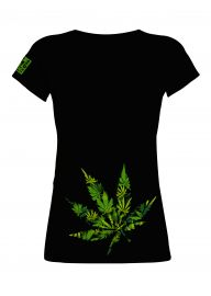 420 Dutch Highlife T-Shirt - Big Leaf (Women)