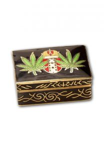 "Pillbox ""Hemp Leaf"""