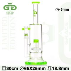 Grace Glass 'Lime' LIMITED EDITION Percolator Bong