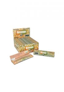 Greengo 'King Size Slim' Unbleached Rolling Papers (50pcs)