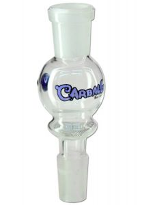 Activated Carbon Adapter for Bongs 'Black Leaf' 'Carball'