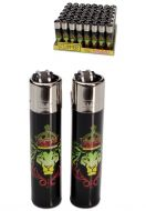 Clipper Lighter 'Rasta Lion'