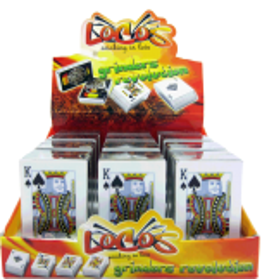 'Locos' Playing Card Grinders