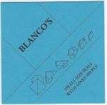 "Small Size Seals with Lines ""Blanco"" (100 Pcs)"