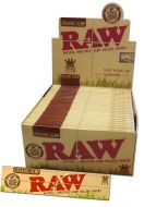 "Cartine di canapa biologica ""RAW"" Kingsize Slim"