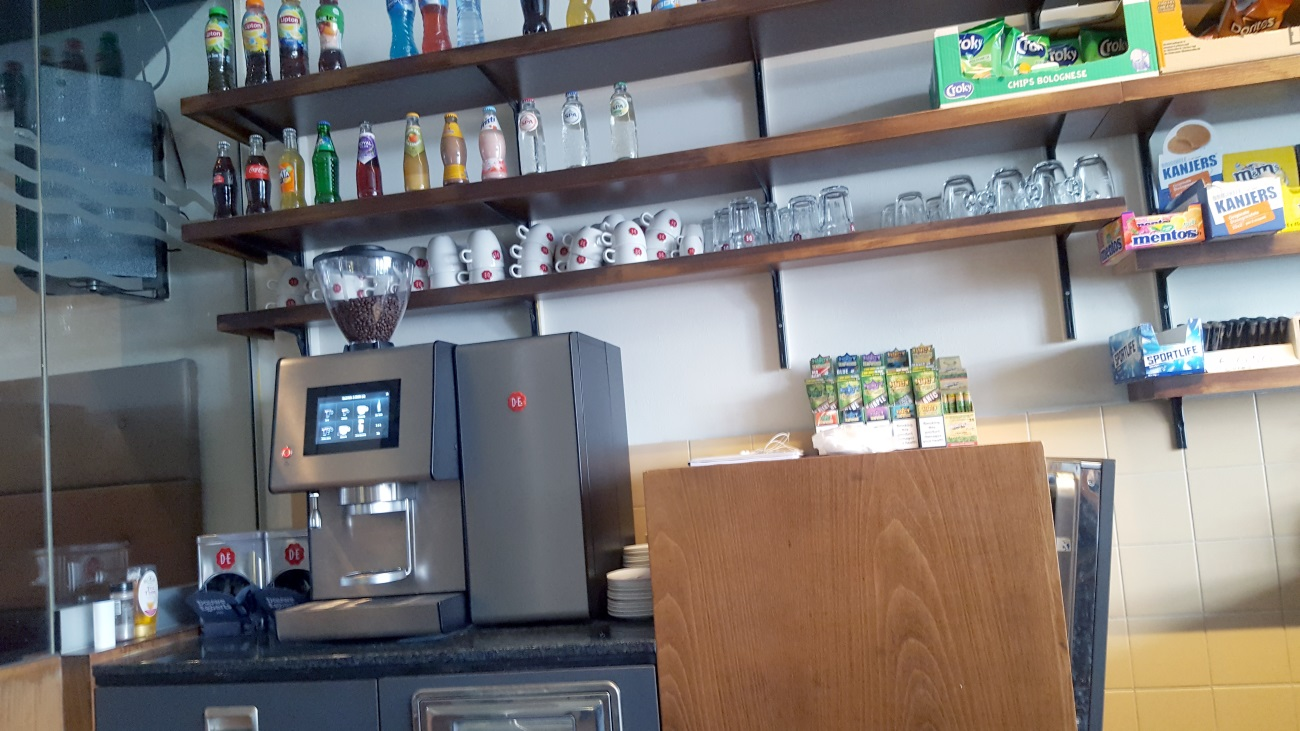 Coffeeshop Maxcy's in Maastricht: de bar