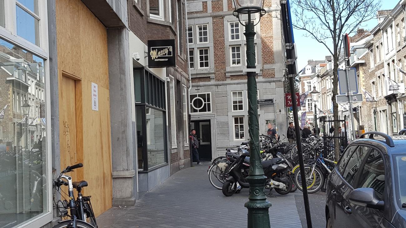 Coffeeshop Maxcy's Maastricht (buiten)