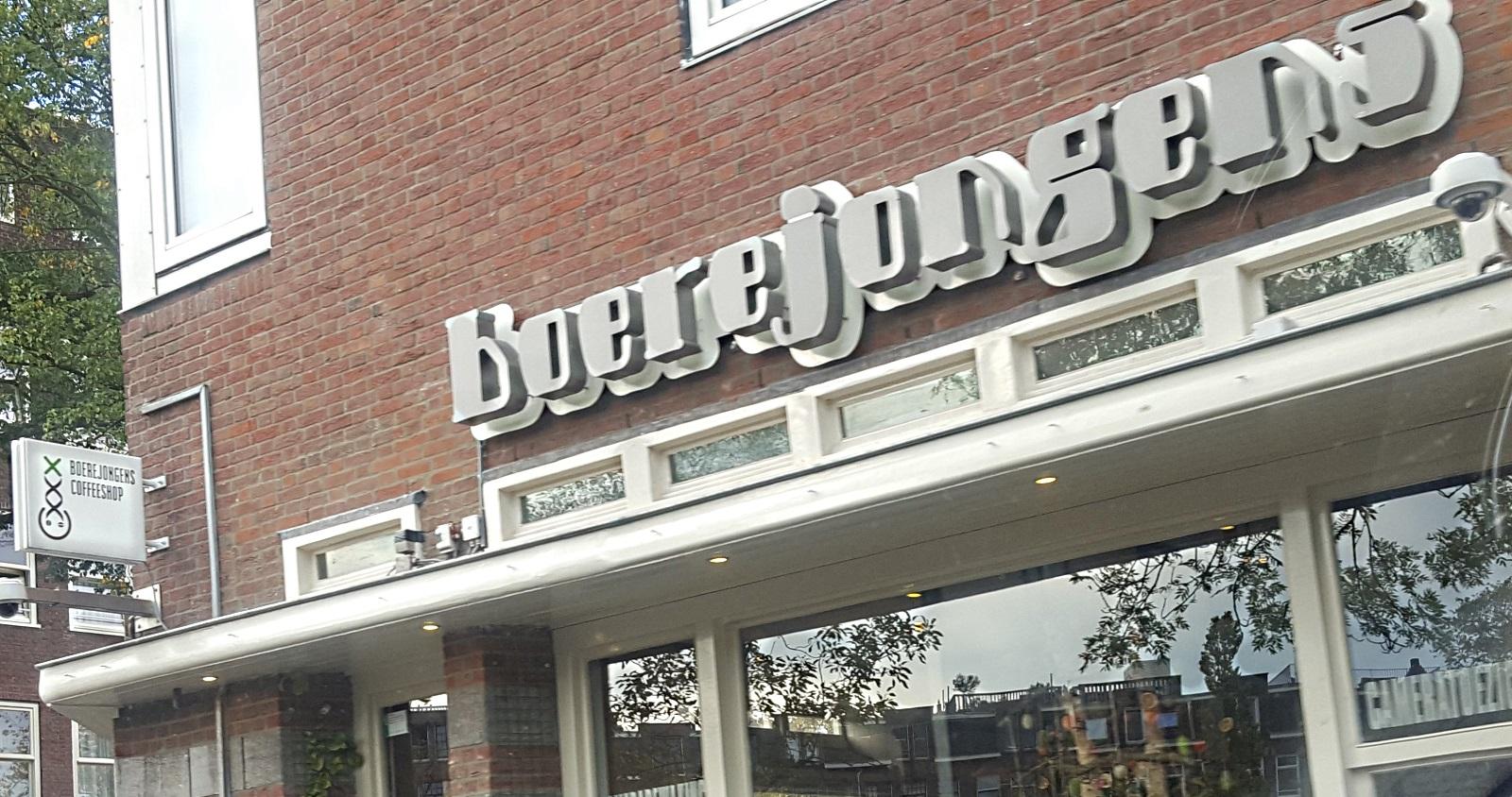 Coffeeshop Boerejongens Amsterdam