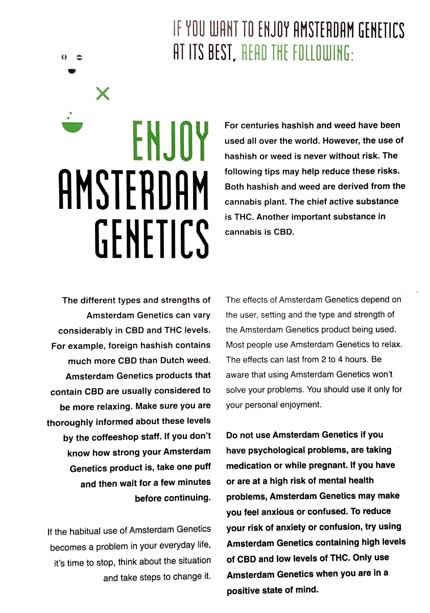 Informatie Amsterdam Genetics